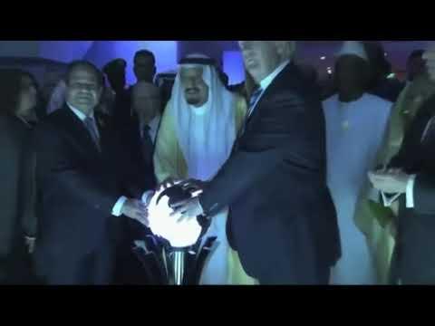 Trump/Saudi Globe Ritual - AS ABOVE, SO BELOW !