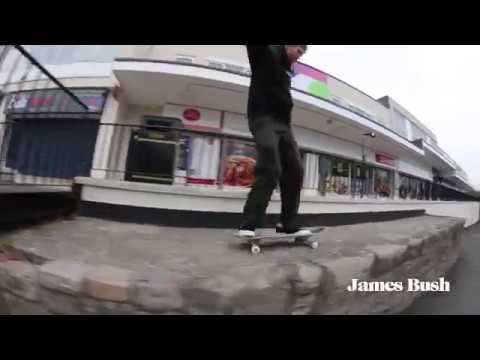 Fabric Skateboards - James Bush is a Don