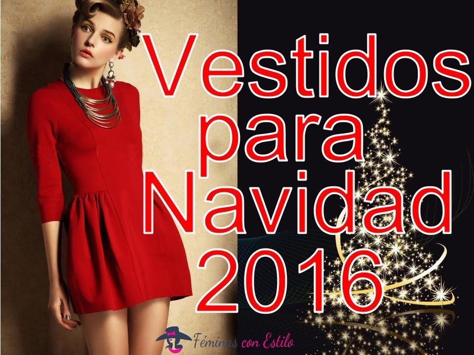 Vestidos de moda para Navidad 2016/Tendencias