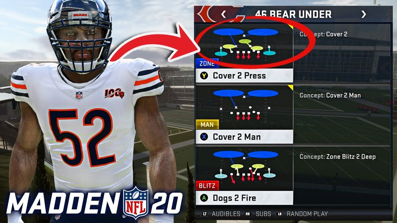 Madden 20 The Top 5 Best Defensive Playbooks Youtube