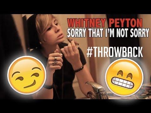 Whitney Peyton - Sorry That I'm Not Sorry (2012)