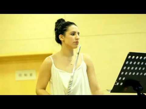 """Jovana Bogojevic - Henri Dutilleux """"Sonatine pour flute et piano"""""""