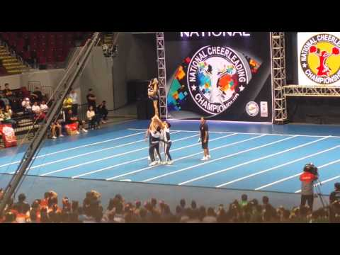 NU Bulldogs Group Stunts - NCC Finals 2015