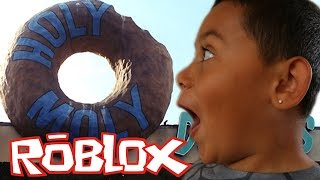 WE HAVE OUR OWN HOLY MOLY DONUT SHOPS!?!?! Donut Factory Tycoon (ROBLOX) Gameplay