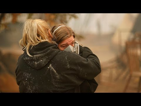 In Paradise, CA, firefighters struggle to defeat Camp Fire is personal