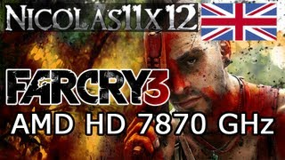 AMD HD 7870 GHz_ Far Cry 3 Ultra Settings Gameplay