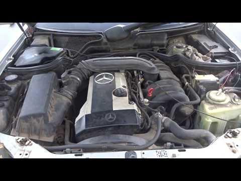 Двигатель б/у M104.945 2.8 л. 193 л.с.Мерседес W210