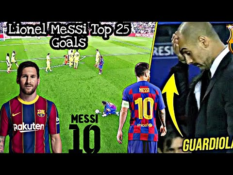 Download Lionel Messi Top 25 Goals That Shocked Everyone ! [Reaction!!!]