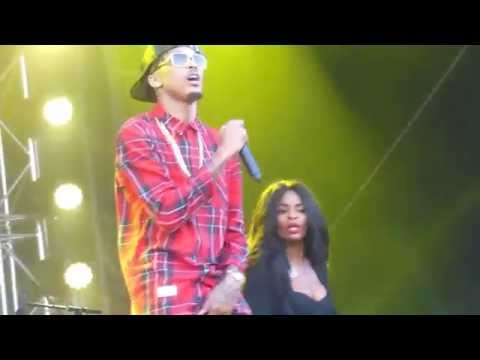 August Alsina - Hold You Down   live Vestival Malieveld The Hague