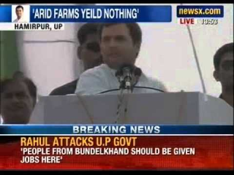 Rahul Gandhi addresses Congress rally in Hamirpur, Uttar Pradesh - News X