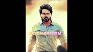 Santhosham - Lyric (Telugu)   WhatsApp Status   Karthi, Rashmika     Kailash Kher, Sameera Bharadwaj