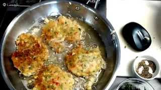 How To Make Corn Fritters And Corn-black Bean Salsa