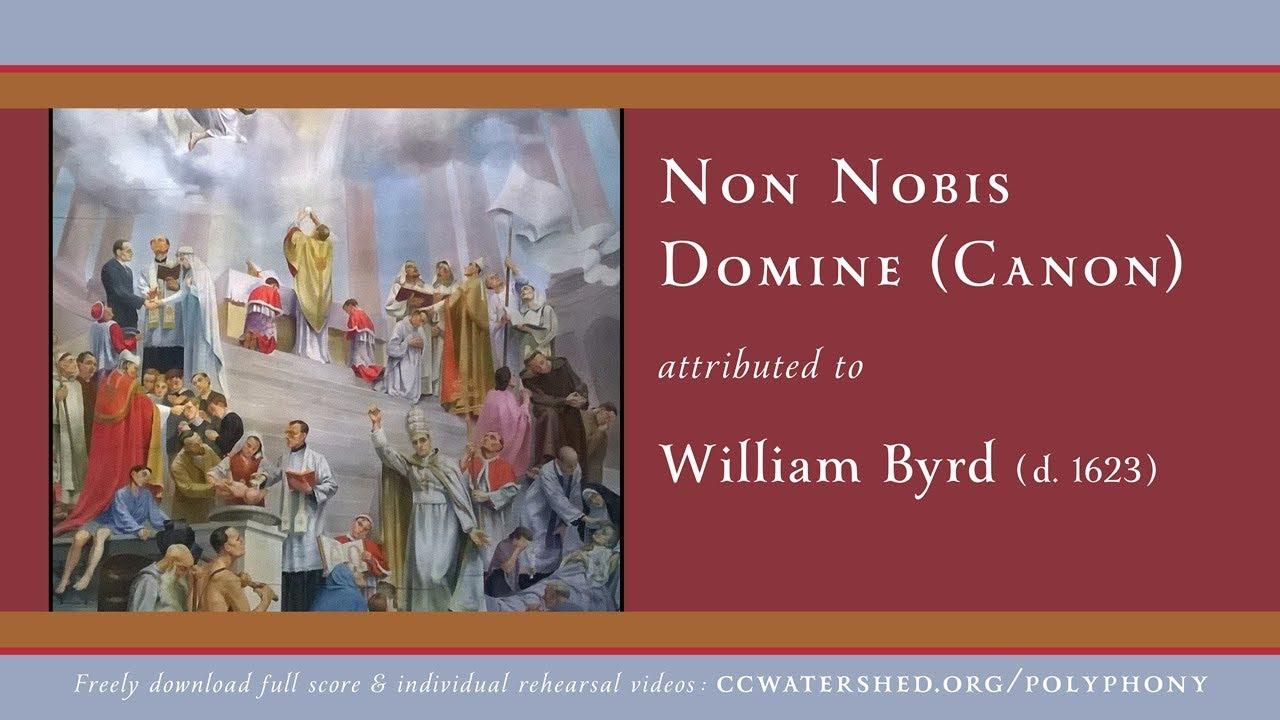 Non Nobis Domine Lyrics English