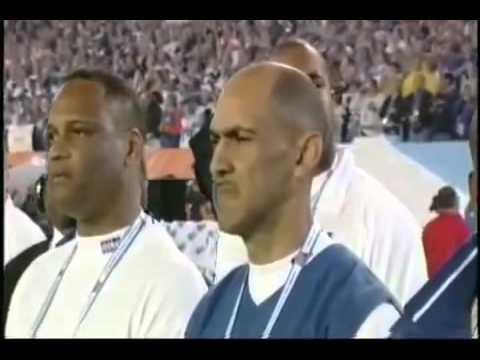 Superbowl XLI  Billy Joel Sings the National Anthem