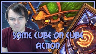Hearthstone: Some cube on cube action