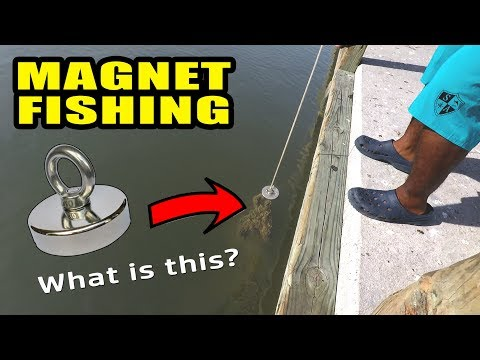 Magnet Fishing Marina for Lost Treasure | Monster Mike
