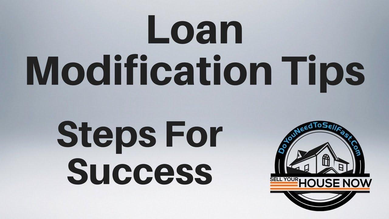 Loan Modification Tips
