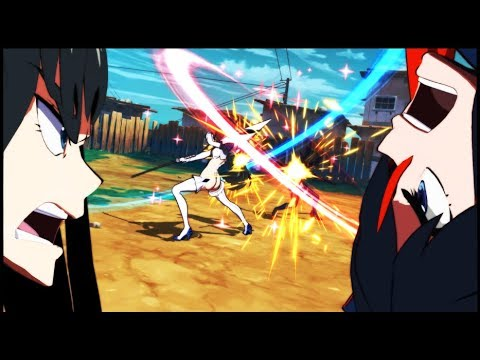 Kill la Kill The Game: IF NEW Screenshots Showing Battle Gameplay , Combos & Clash System