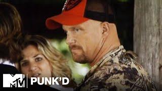 Ashton Kutcher vs. Stone Cold Steve Austin, Ashlee Simpson & D12   Punk'd