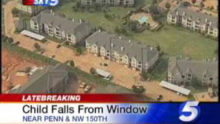 Toddler Falls From Apt. Window