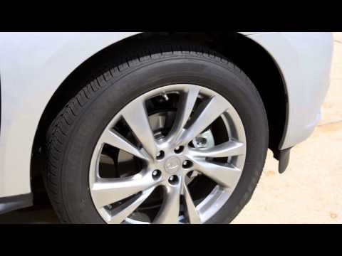 2016 Infiniti QX60 HEV- Tire Pressure Monitoring System (TPMS) with Tire Inflation Indicator