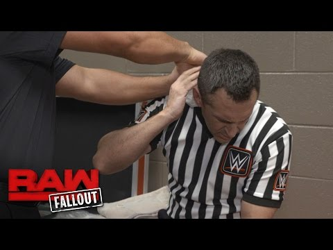 Thumbnail: John Cone receives treatment after Big Show & Braun Strowman's match: Raw Fallout, April 17, 2017