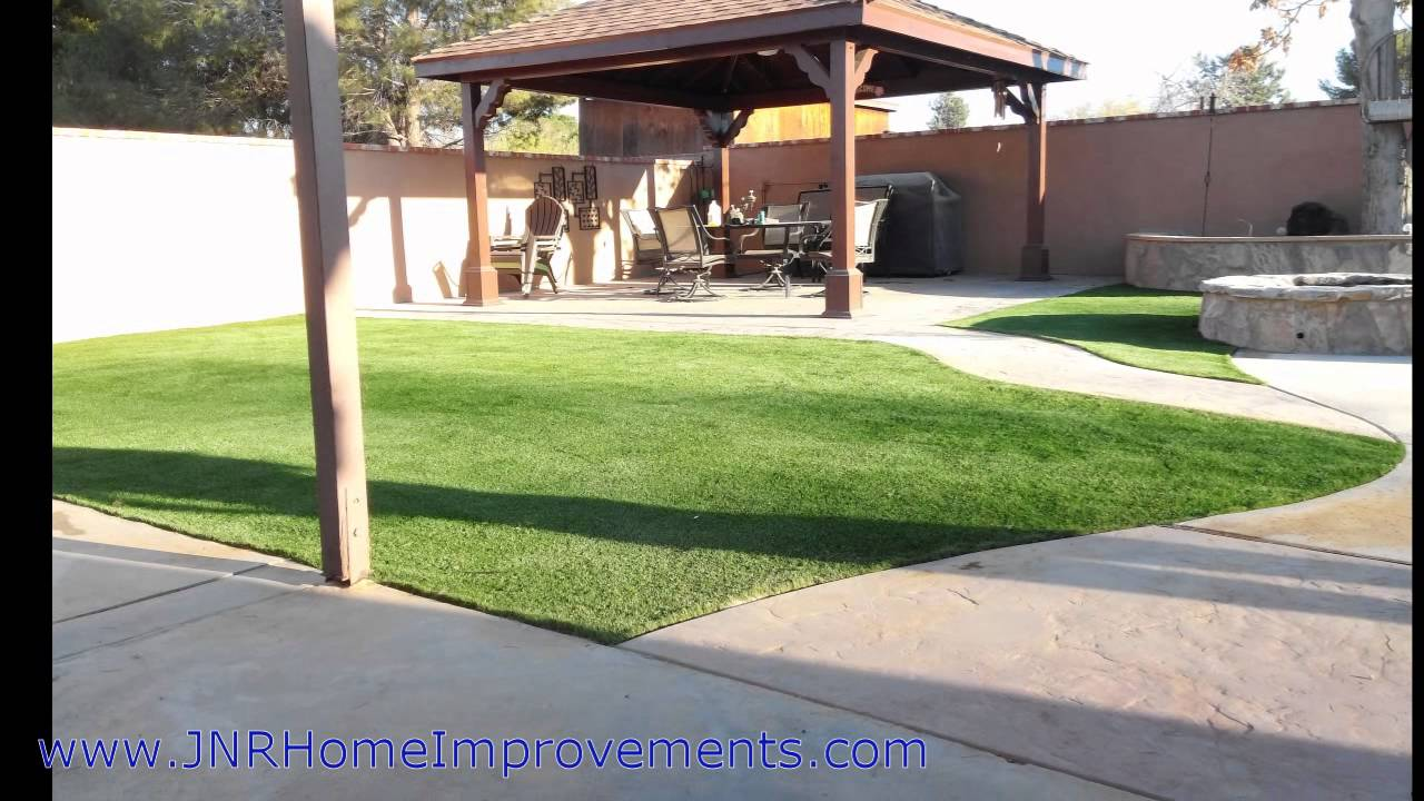 artificial turf by jnr home improvements inc youtube