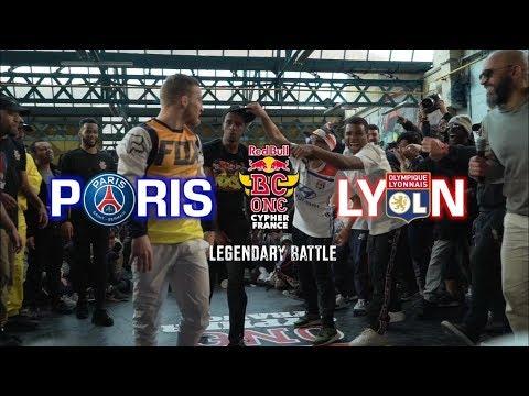 Red Bull BC One Cypher France 2019 / Legendary Battle : Lyon VS Paris