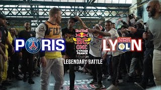Red Bull BC One Cypher France 2019 / Legendary Battle : Lyon VS Paris