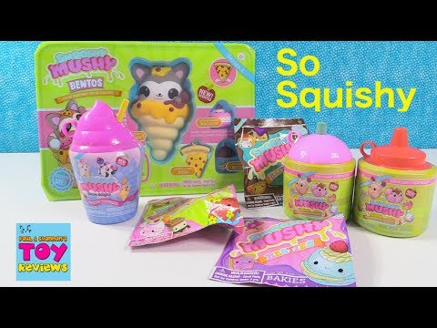 Smooshy Mushy Squishies Surprise Present Unboxing Scented Toy Review | PSToyReviews