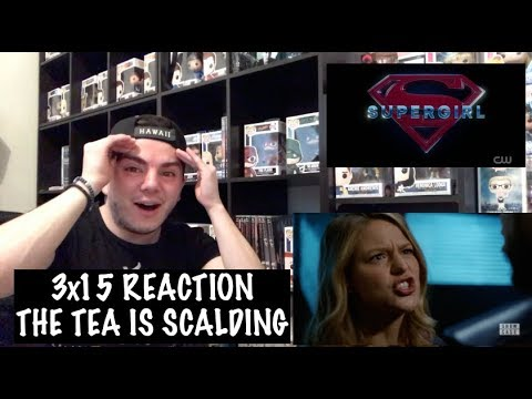 SUPERGIRL - 3x15 'IN SEARCH OF LOST TIME' REACTION
