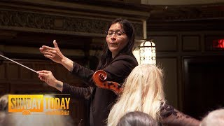Meet The Woman Breaking Barriers As A Trailblazing Symphony Conductor | Sunday TODAY