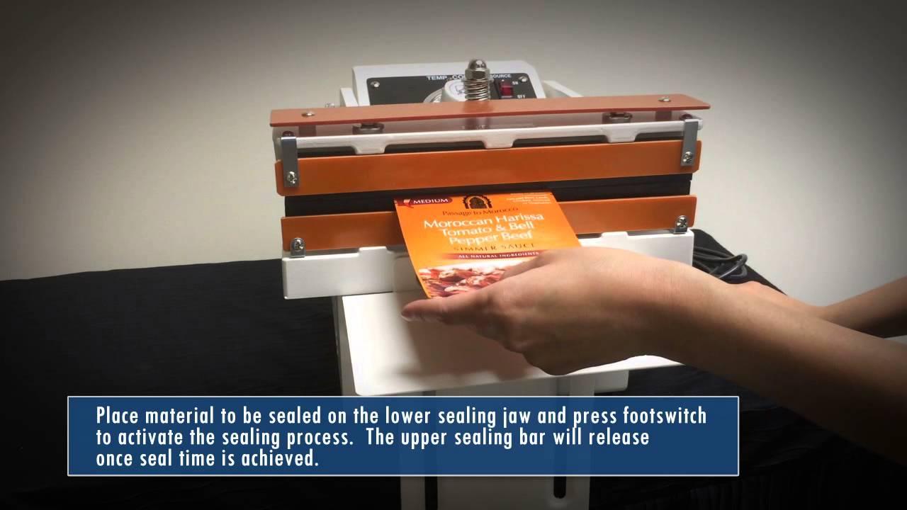 Sealer Sales W 300DAT(S) Table Top Direct Heat Sealer