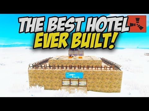 BUILDING A MASSIVE HOTEL! COME JOIN! - Rust Hotel Series thumbnail