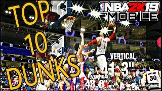 NBA2K19 MOBILE | TOP 10 DUNKS OF THE WEEK  |WEEK 5