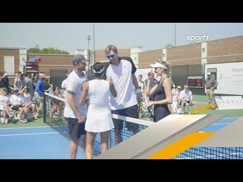 Dirk Nowitzki spielt Tennis für Hurricane-Opfer   SPORT1