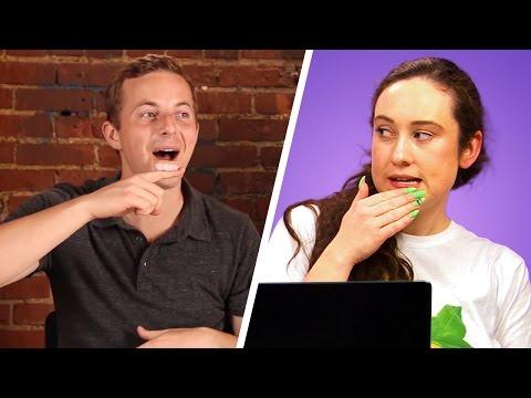 Irish People Watch People Try Irish Foods