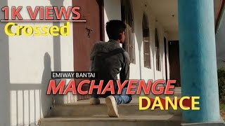 EMIWAY- MACHAYENGE (PROD BY.TONY JAMES) |indian hip hop |Dance Video |Tik Tok Challenge |