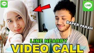 AKU PAKEK KERUDUNG DULU YA 😍 VIDEO CALL CEWEK BARU KENAL! MINTA DI HALALIN - LINE Nearby
