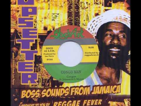 Congos - Congo Man b/w Congos - Version