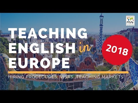 Teaching English in Europe 2018 - International TEFL Academy