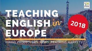 Teaching English in Europe - International TEFL Academy
