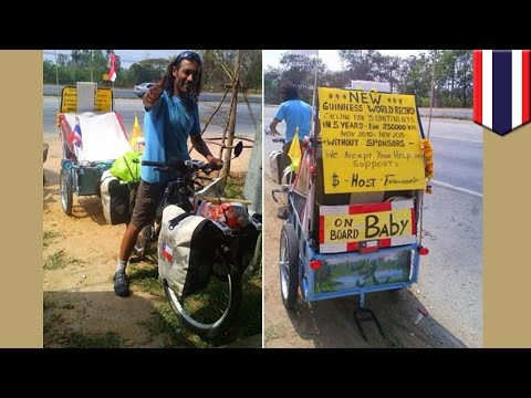Round-the-world Cyclist Juan Francisco Guillermo killed in road accident in Thailand