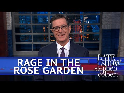 Stephen Colbert breaks down WTF happened at the White House on Wednesday