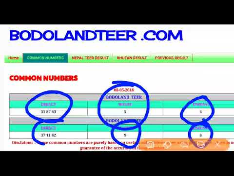 Bodolandteer com ka all result khelo daily tagged Clips and Videos