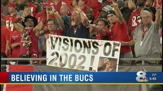 Fans excited about Bucs streak