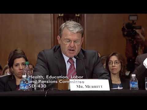 PCMA President Mark Merritt Testifies Before Senate HELP Committee - 10/17/17