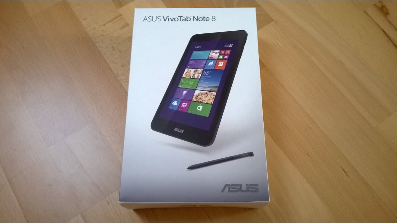 ASUS VivoTab Note 8 Tablet Wacom Digitizer Stylus Unboxing!