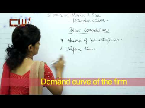 FORAM OF MARKET AND PRICE DETERMINATION CHAPTER: 6, STD.: 12TH, ECONOMICS