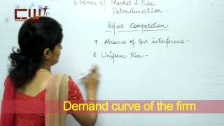 FORAM OF MARKET AND PRICE DETERMINATION CHAPTER 6 STD 12TH ECONOMICS